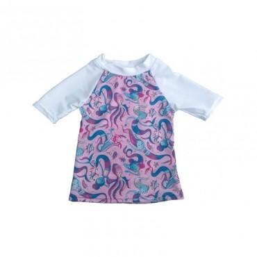 Applecheeks - Tshirt avec protection UV 50+ Taille 1 de 0 à 12 mois