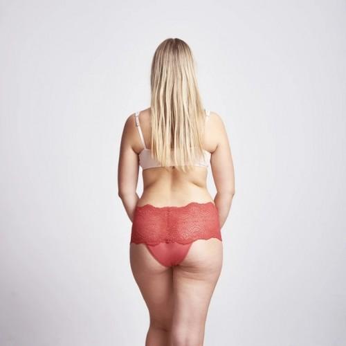 Kora Mikino - Culotte menstruelle modèle Hipster SEXY DIANE rouge tulipe
