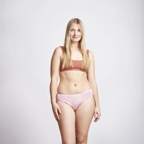 Kora Mikino - Culotte menstruelle modèle SIVVY beige - EN STOCK