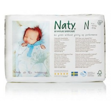 Naty - Couches jetables écologiques