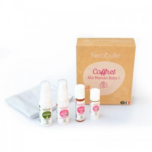 Néobulle - gamme de soin - COFFRET CADEAU - Allo Maman Bobo, l'essentiel des touts petits