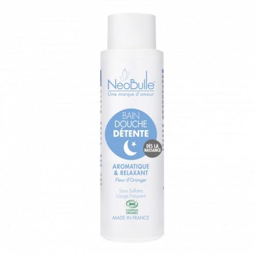Néobulle - gamme de soin bio - Détente et Dodo - Bain douche Détente