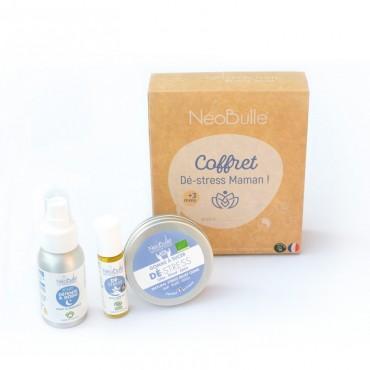 Néobulle - gamme de soin - COFFRET CADEAU - Dé-stress Maman, le coffret détente