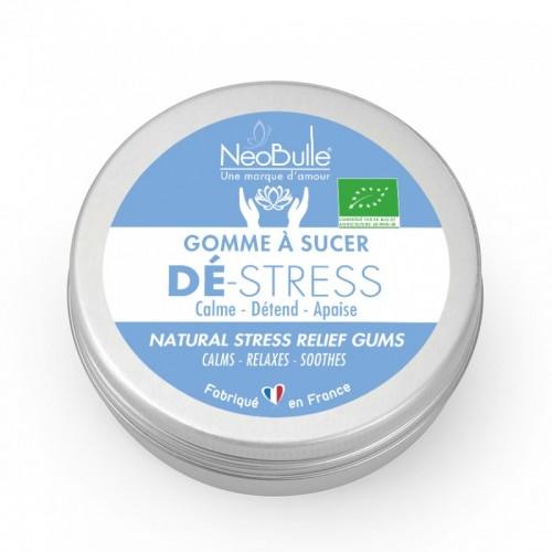 Néobulle - gamme de soin bio - Détente et Dodo - Gomme à sucer Dé-Stress