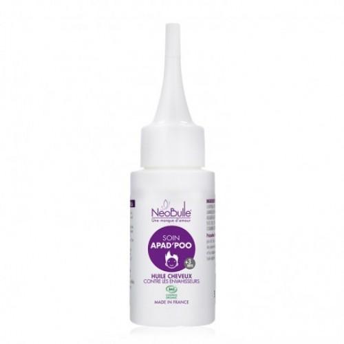 Néobulle - gamme de soin - APAD'POO - Soin, huile cheveux