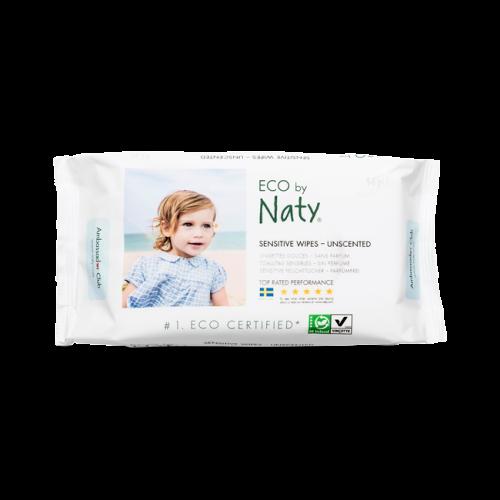 Naty - Lingettes humides écologiques