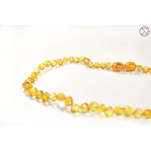 Irréversible Bijoux - Collier d'ambre