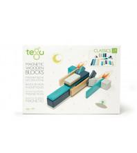 Tegu classic bleu 24 pièces