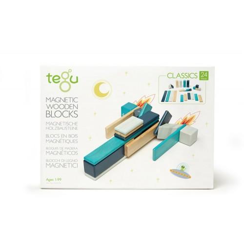 Tegu blocs magnétiques 24 pièces