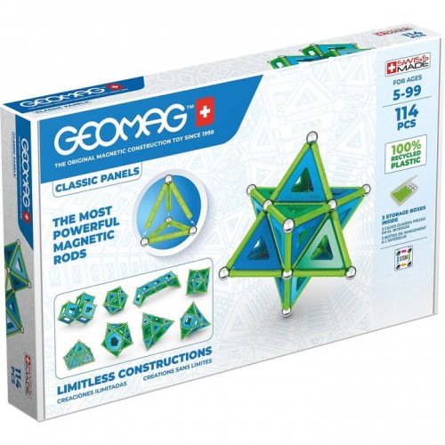 Geomag - Green Line 114 pièces