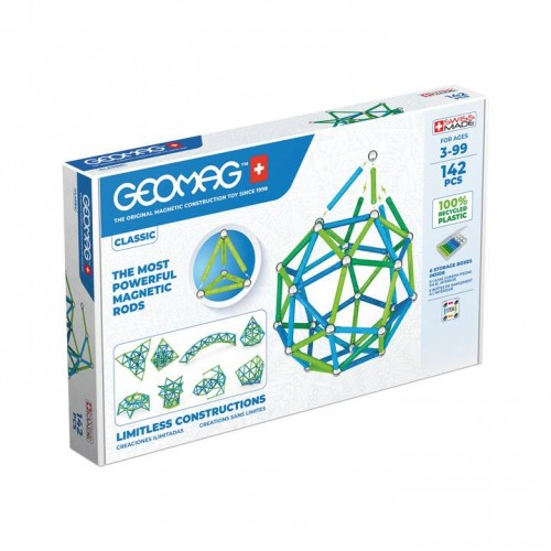 Geomag - Green Line 142 pièces