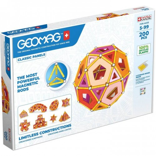 Geomag - Green Line 200 pièces
