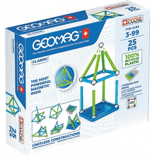 Geomag - Green Line 25 pièces