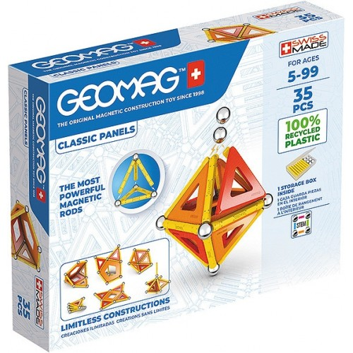 Geomag - Green Line 35 pièces