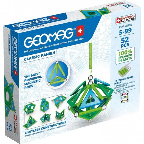 Geomag - Green Line 52 pièces
