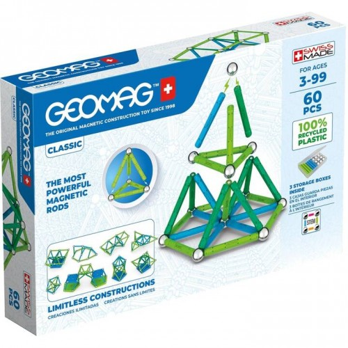 Geomag - Green Line 60 pièces