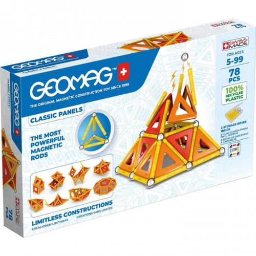 Geomag - Green Line 78 pièces