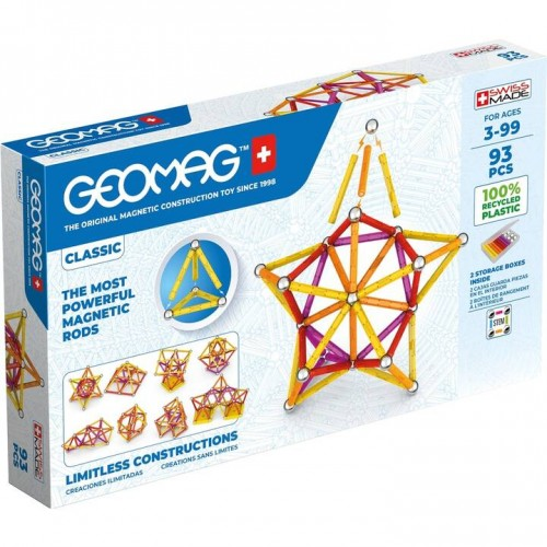 Geomag - Green Line 93 pièces