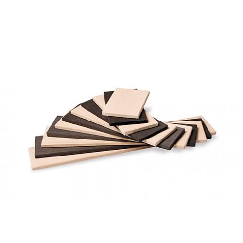 Grimm's - Plaquettes de construction en bois monochrome