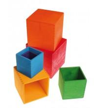 PRÉCOMMANDE - Grimm's - Cubes gigognes à empiler