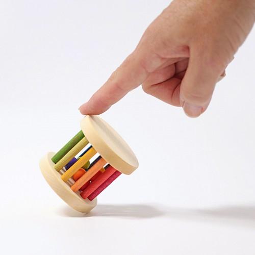 Grimm's - Mini Baby Roller coloré