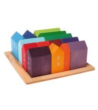 PRÉCOMMANDE - Grimm's - lot de maisons colorées