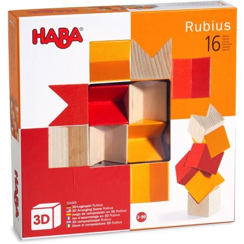 Haba - Jeu d'assemblage en 3D Rubius