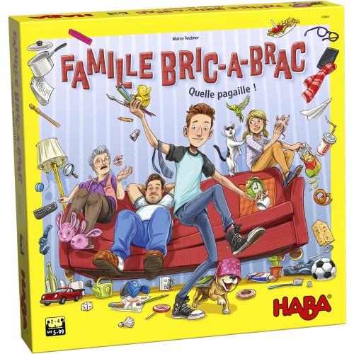 Haba - Jeu de société - La Famille Bric à Brac