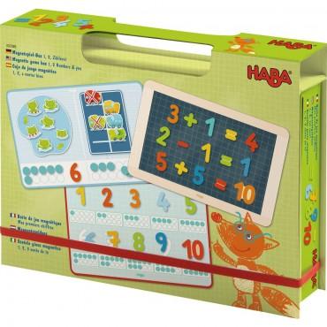 """Haba - Boîte de jeu magnétique """"mes premiers chiffres"""""""