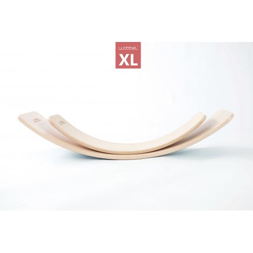 Wobbel board - XL laqué transparent avec revêtement feutrine