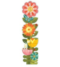 PetitCollage - Toise Jardin fleuri