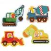 """PetitCollage - Mes premiers Puzzle """"Construction """""""