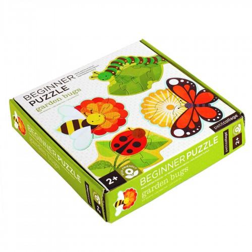 """PetitCollage - Mes premiers Puzzle """"Insectes du jardin"""""""