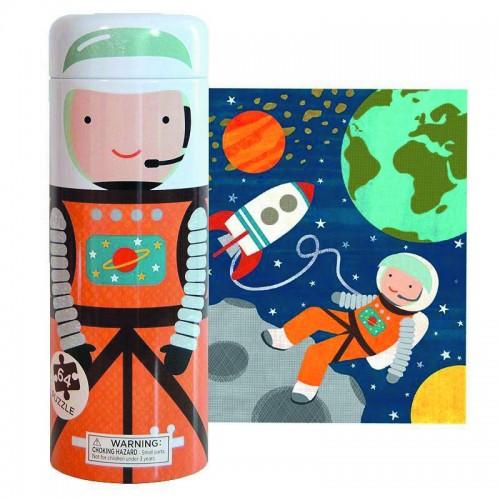 PetitCollage - Tirelire avec Puzzle Espace