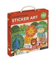 PetitCollage - StickerArt - Ami des animaux
