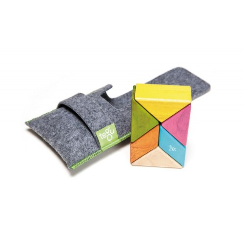 Tegu - Blocs magnétiques pochette 6 pièces