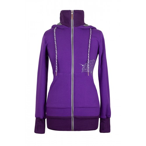 AngelWings - Hoodie Dark Purple