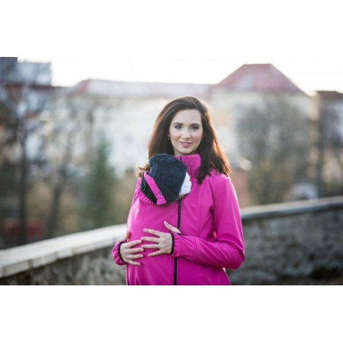 AngelWings - Veste Softshell Magenta