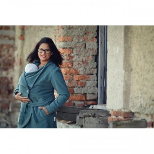 AngelWings - Manteau en laine BLEU