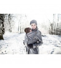 AngelWings - Manteau en laine BRUN