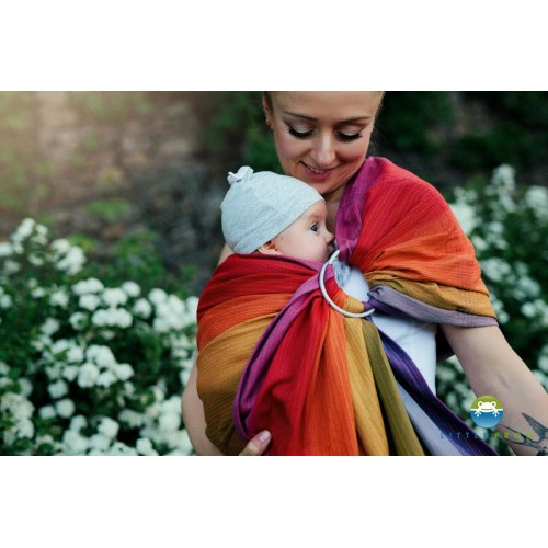 Little Frog - Ring Sling Aura in love