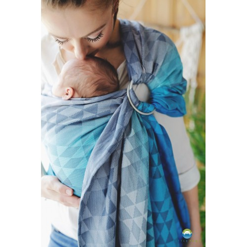 Little Frog - Ring Sling Navy Illusion