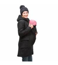 Mamalila - Manteau en laine pour 2 ANTHRACITE