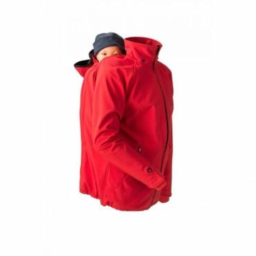 Mamalila - veste softshell rouge