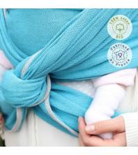 Néobulle - Echarpe Bleu Denim (coton bio)