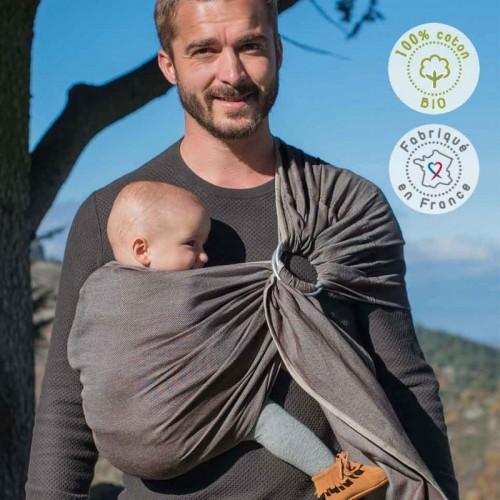Néobulle - Sling marron Cappucino (coton bio)