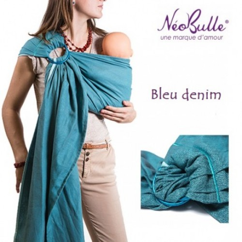 Néobulle - Sling Bleu Denim (coton bio)
