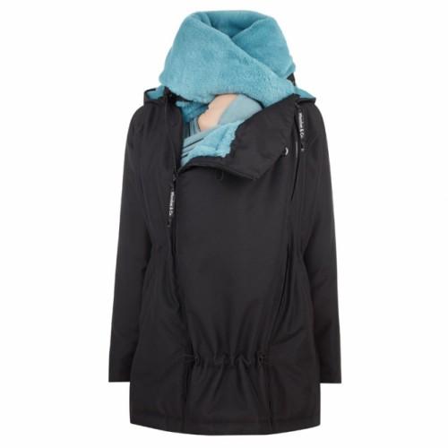 Wombat - Veste Wallaby Noir/bleu