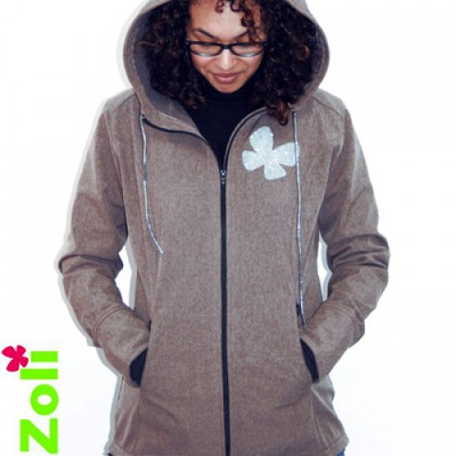 "Zoli - Veste softshell ""Week-end"" Taupe"