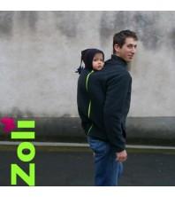 Zoli - Veste de portage polaire homme - modèle Dua Papa Pissenlit